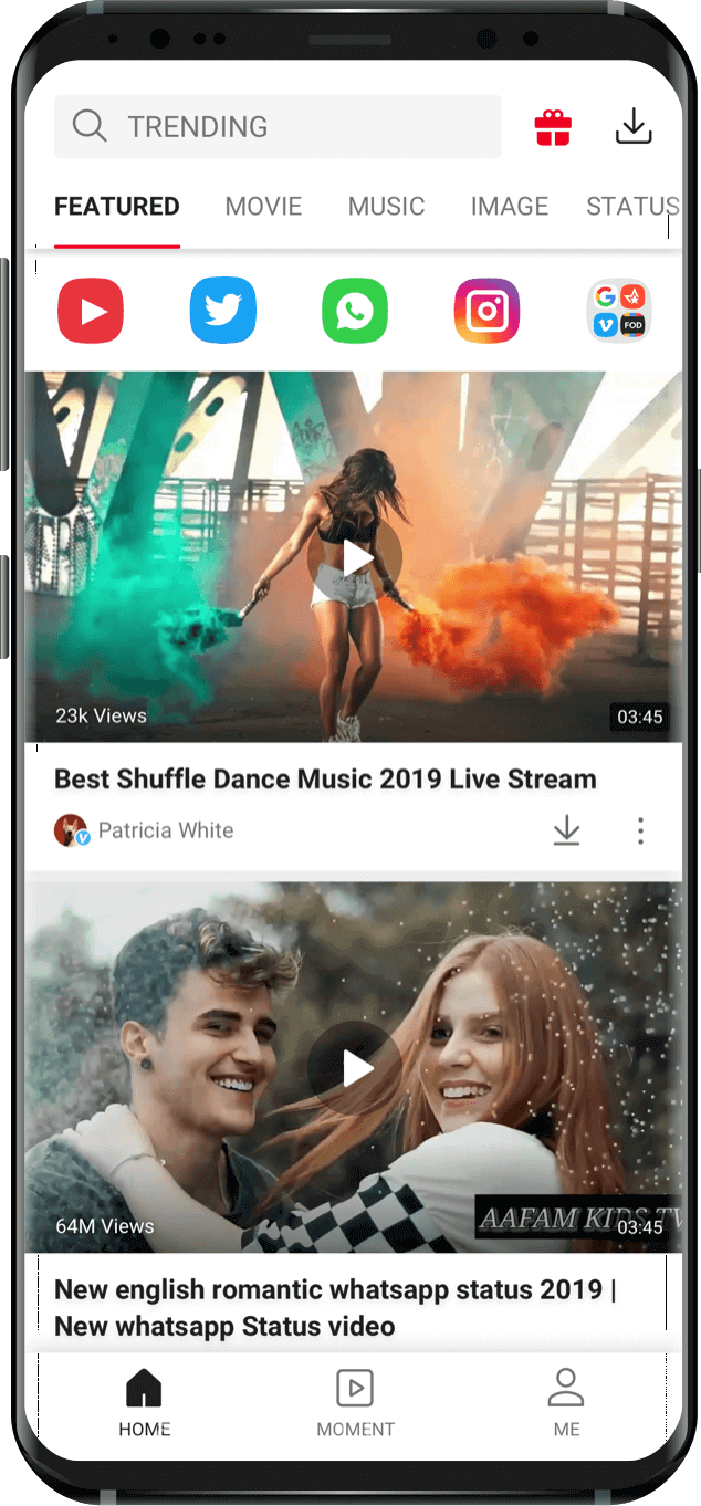 VidMate APP: Free Download YouTube WhatsApp Video - Official